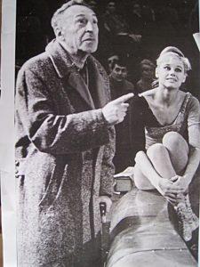 Репетиция Московского цирка на льду 1969