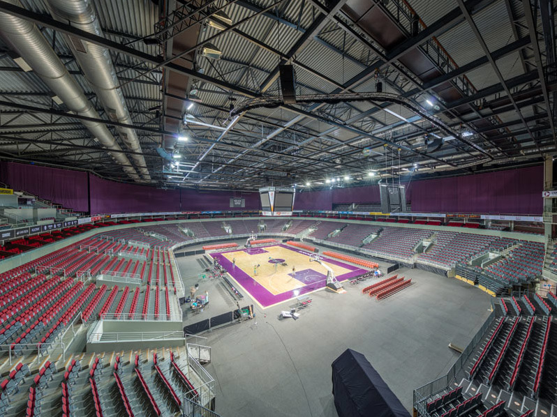 arena Riga interior view