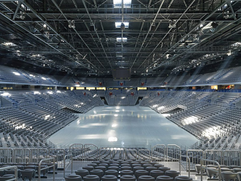 arena agreb interior view