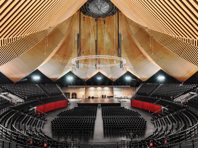 Tempodrom interior view