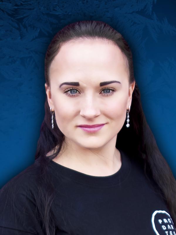 Nelli Baljinimaeva Moscow circus on ice