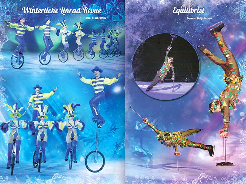 Moscow Circus On Ice Sensation Tour 2021