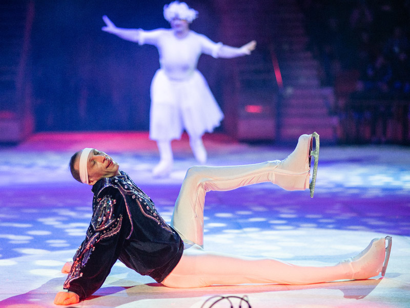 """Клоунская реприза """"Балет"""" цирк на льду"""